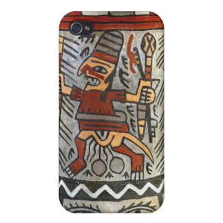Vase depicting a farming scene iPhone 4/4S case