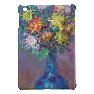 Vase of Chrysanthemums Claude Monet iPad Mini Cover