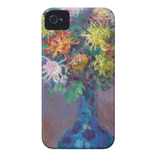 Vase of Chrysanthemums Claude Monet iPhone 4 Case-Mate Case