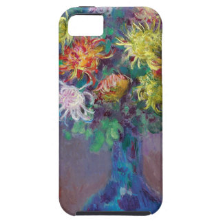 Vase of Chrysanthemums Claude Monet iPhone 5 Cases