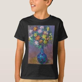 Vase of Chrysanthemums Claude Monet T-Shirt