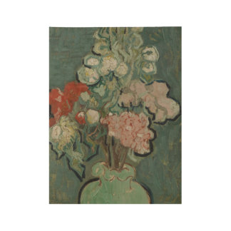 Vase of Flowers Auvers-sur-Oise, June 1890 Vincent Wood Poster