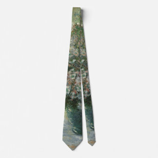 Vase of Flowers by Claude Monet, Vintage Fine Art Tie