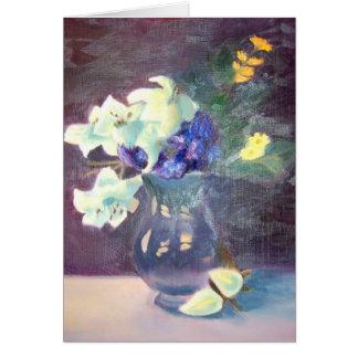 Vase of Flowers Card