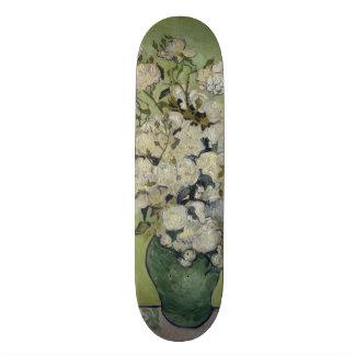 Vase of Roses by Vincent Van Gogh 18.1 Cm Old School Skateboard Deck
