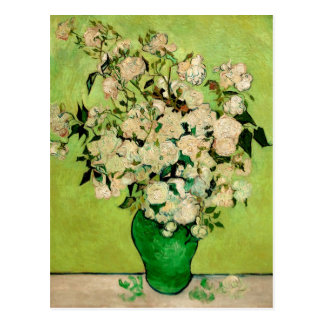 Vase of Roses by Vincent van Gogh Postcard
