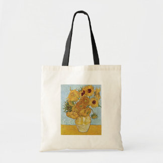 Vase With 12 Sunflowers By Vincent Van Gogh Bag