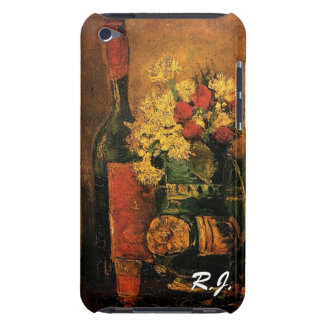 Vase with Carnations and Roses and a Bottle Barely There iPod Case