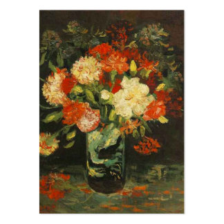 Vase with Carnations, van Gogh Business Card