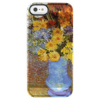 Vase with daisies and anemones - Van Gogh Clear iPhone SE/5/5s Case