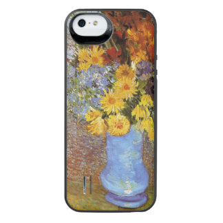 Vase with daisies and anemones - Van Gogh iPhone SE/5/5s Battery Case