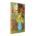 Vase with Daisies and Anemones - Vincent van Gogh Gallery Wrap Canvas