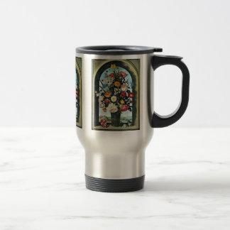 Vase With Flowers In A Window. Met, Coffee Mug