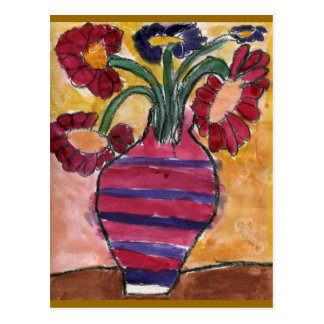 Vase with Flowers Postcard