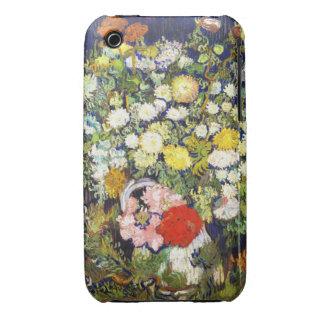 Vase with Flowers Vincent van Gogh fine art iPhone 3 Cases