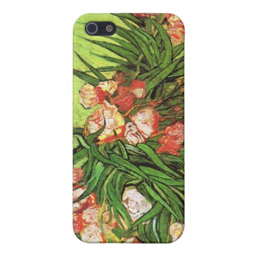 Vase with Oleanders and Books, Van Gogh iPhone 5 Case
