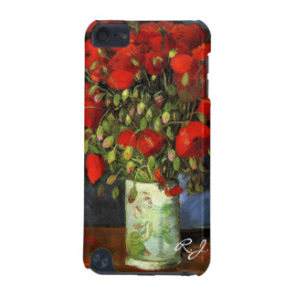 Vase with Red Poppies by Vincent van Gogh. iPod Touch (5th Generation) Case