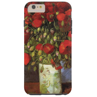 Vase with Red Poppies by Vincent van Gogh Tough iPhone 6 Plus Case