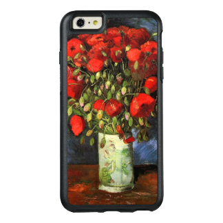 Vase with Red Poppies Van Gogh Fine Art OtterBox iPhone 6/6s Plus Case