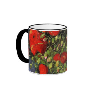Vase with Red Poppies Vincent van Gogh. Mugs