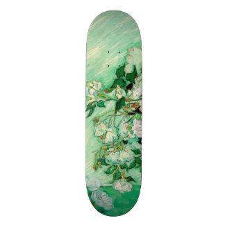 Vase with Roses by Vincent Van Gogh Custom Skate Board