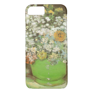 Vase with Zinnias and Flowers by Vincent van Gogh iPhone 8/7 Case