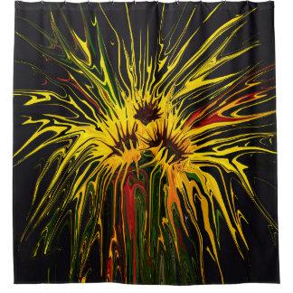 Vaseless Sunflowers Shower Curtain