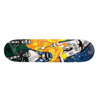 Vasilisa the Beautiful 20.6 Cm Skateboard Deck