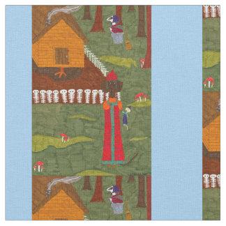 Vasilisa the Beautiful Fabric