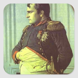 Vasily Vereshchagin-Napoleon in the Petroff Palace Square Sticker