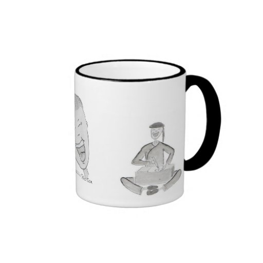 vaso scribe and mouse coffee mugs