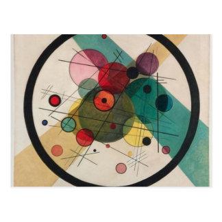 Vassily Kandinsky Circles in a Circle Postcard