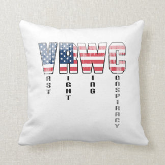 Vast Right Wing Conspiracy Faded.png Throw Pillows