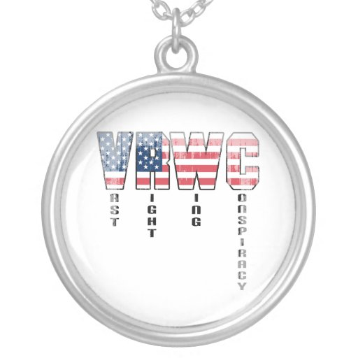 Vast Right Wing Conspiracy Faded.png Pendant