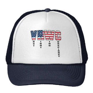 Vast Right Wing Conspiracy Mesh Hat