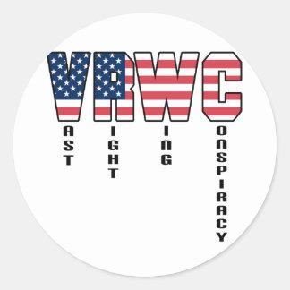 Vast Right Wing Conspiracy Sticker