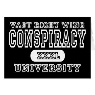 Vast Right Wing Conspiracy University Dark Cards