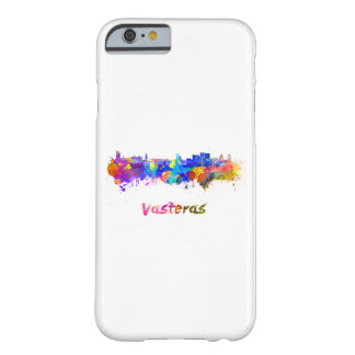 Vasteras skyline in watercolor barely there iPhone 6 case