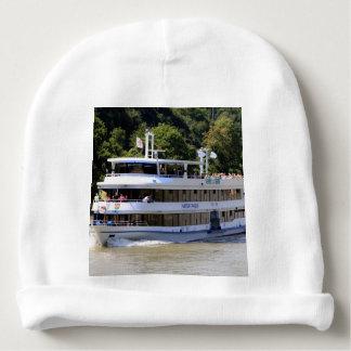 Vater Rhein tour boat, Germany Baby Beanie