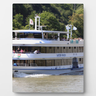 Vater Rhein tour boat, Germany Plaque