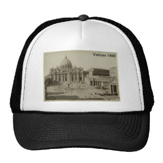 Vatican 1890 Hat