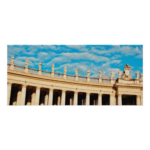 Vatican architecture rack cards