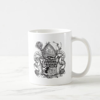 Vatican Assassin Warlock Basic White Mug