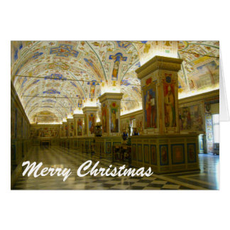 vatican christmas card