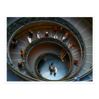 vatican circular postcard