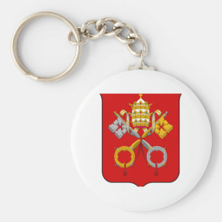 Vatican City Coat of Arms Key Chains