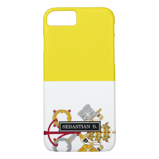 Vatican City flag iPhone 7 Case