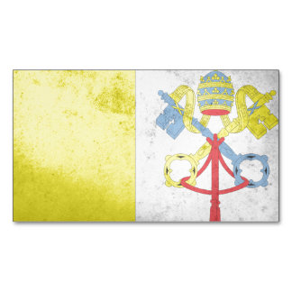 Vatican City Flag Magnetic Business Cards