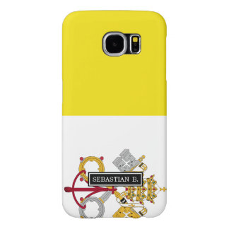 Vatican City flag Samsung Galaxy S6 Cases