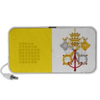 Vatican City flag speakers